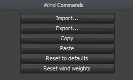 Reset Wind Preferences? - SpeedTree Forum